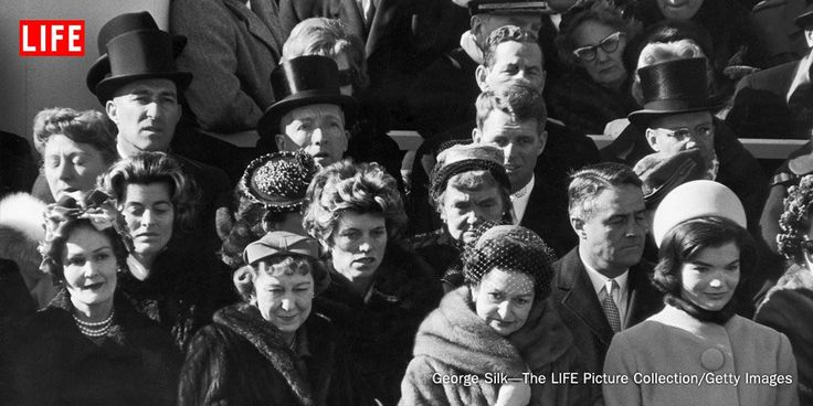 Remember Nancy Reagan with photos of first ladies at JFK's inauguration ceremony