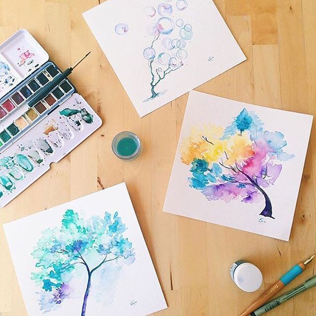【susanl】さんのInstagramをピンしています。 《the last! reminder: this month's print profits from http://shop.bysusanlin.com will be donated to charity. 💝 L I N K 💗 I N 💛 B I O 💓 _ #100daysofwatercolortrees #LinWatercolorForest #sketch #tree #trees #inspired #artistsofinstagram #watercolor  #watercolors #art #painting #paintings #moma100days #水彩 #水彩画 #watercolortree #watercolortrees  #winter #spring #summer #fall #rainbow #colorful #blossoms #hanami #cherryblossoms #dailyhappinessproject #bubbles》