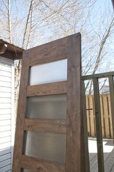 how to make your own barn door hardware | ... new hot spot! Double sliding doors on a barn door hardware ! | Blog