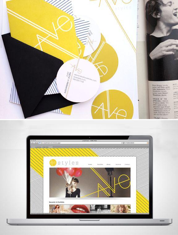 Ave Styles Branding // Promise Tangeman is a creative genius.
