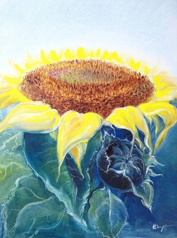Pittura con i colori ad olio Natura Morta su tela di NatalieCugArt