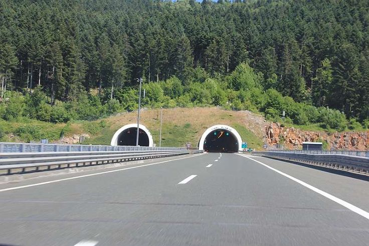 Tunel i Croatia #croatia