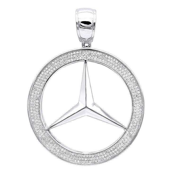 Best 25 1 carat ideas on pinterest 1 carat engagement for 14k gold mercedes benz pendant