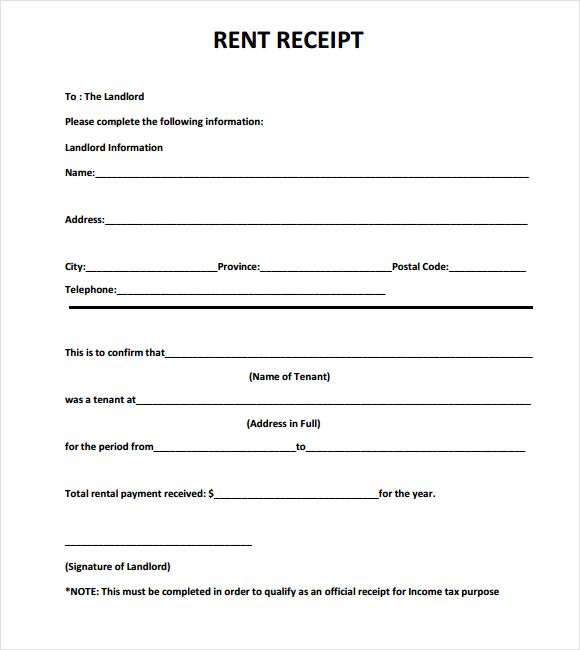 Rental Receipts Template Word Invoice Template Word Receipt Template Invoice Template