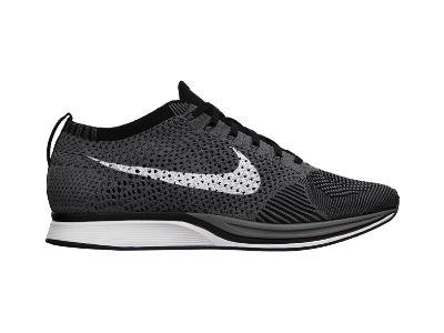 The Nike Flyknit Racer Dark Grey