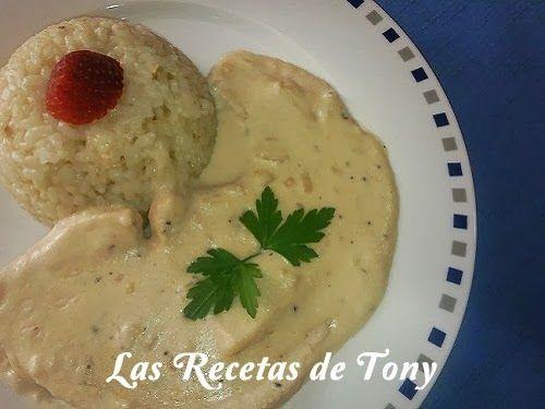 Las Recetas de Tony                 Ingredientes:   4 Filetes de Pez Espada (150 gr. cada uno)  300 ml. de Nata Especial para Cocinar ...