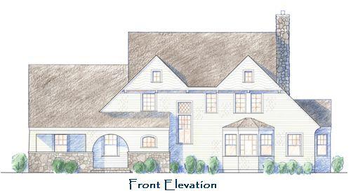 maine shingle style house plans - house design plans