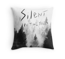 Twenty One Pilots Trees Throw Pillow
