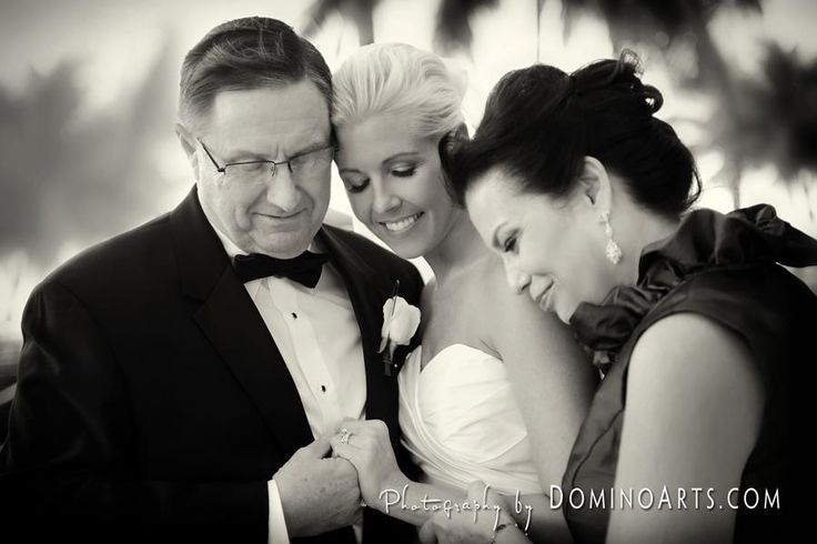 Love the father daughter angle, wedding photography