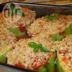 Baked stuffed marrow @ allrecipes.co.uk