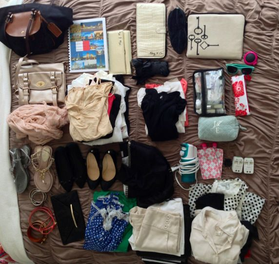 How to pack for 10 day trip to London & Paris in a carry on bag