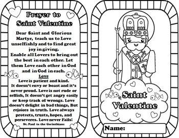 My Catholic Mini Saint Book - Saint Valentine