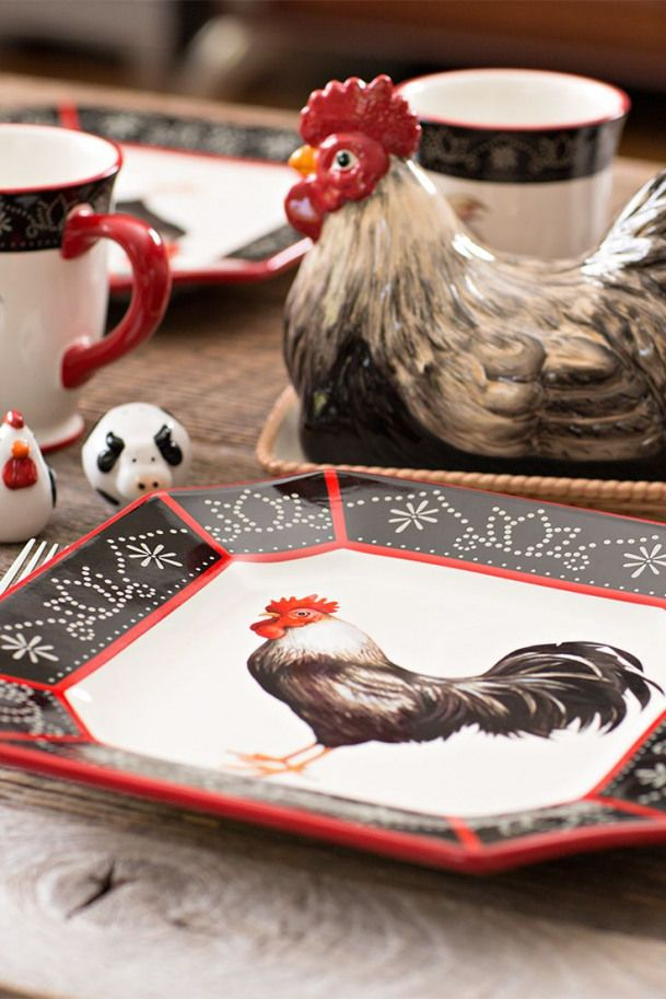 Bring Homestyle Into Your Home In Style Chickenhouses Country Rooster Decor Rooster Kitchen Decor Rooster Decor