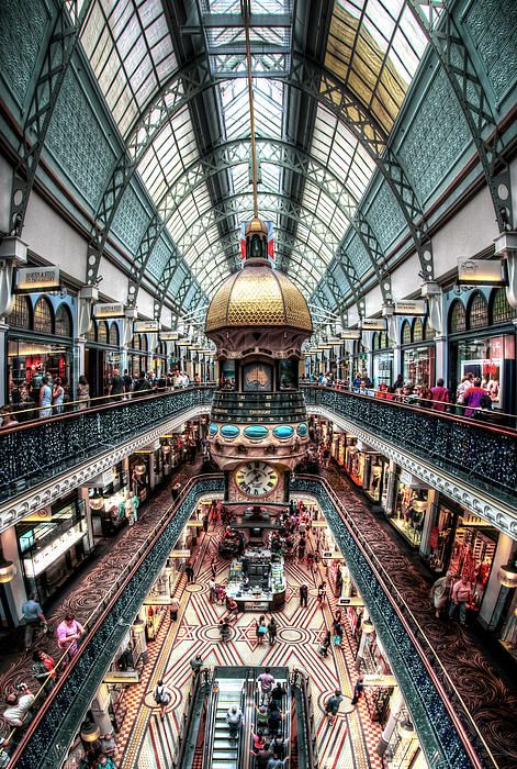 ✮ Queen Victoria Building Shops - Sydney
