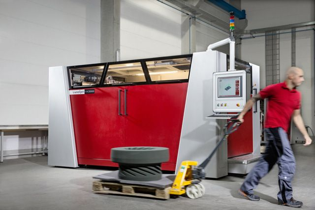 VoxelJet's New LARGE 3D Printer, The VX2000 - Seen on http://3DPrintboard.com