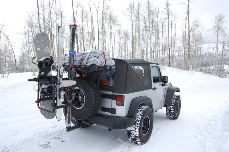 JK Ski-mobile | Expedition Jeeps | Jeep, Jeep truck, Skiing
