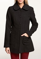 ONLY Ria Wool Coat Winterjacken, black