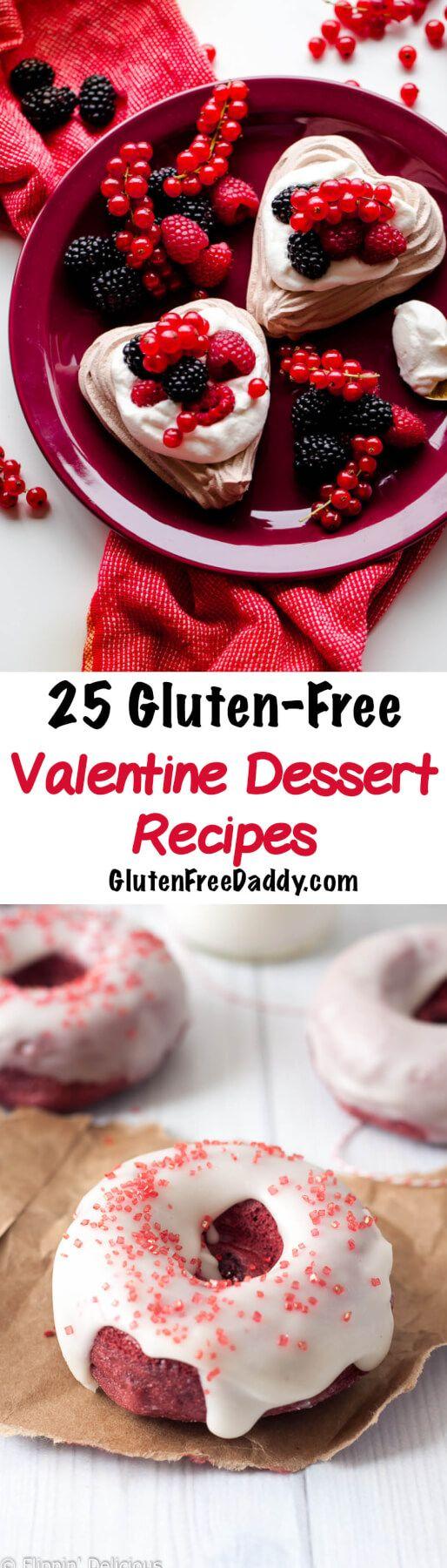 25 of the Best Ever Gluten-Free Valentine's Day Dessert Recipes