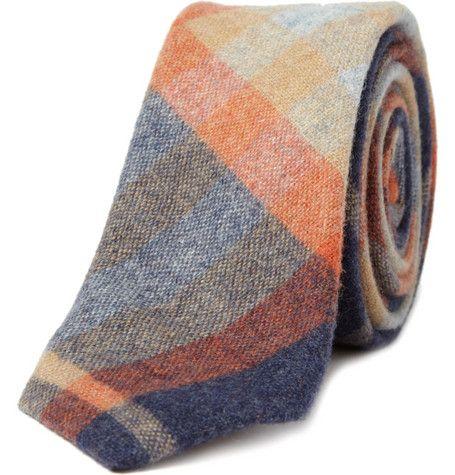 Plaid Tie: Men Clothing, Wool Ties, Plaid Ties, Men Fashion, Alexander Olch, Fashionmi Style, Olch Winter, Winter Plaid, Plaid Wool