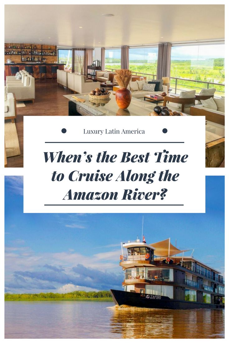 If you're going to go on a cruise along the Amazon River, there are a few fluctuations to keep in mind. Here's what International Expeditions has to say on it.