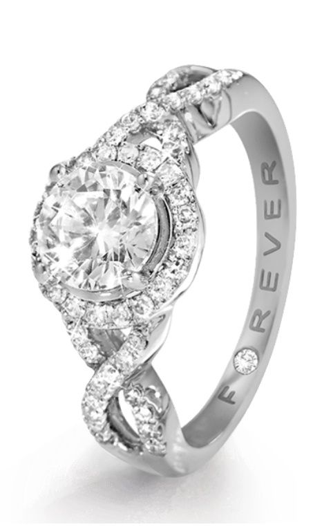 "Oh my goodness...this is GORGEOUS!! I would change the engraving to ""For Eternity"" instead though. Still an amazing ring"