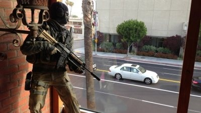LAPD storms game studio in standoff with 'Ghost' replica