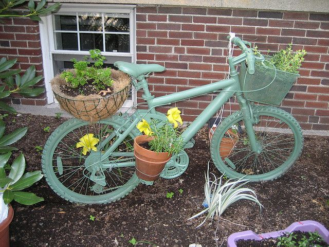 All sizes | Bicycle garden | Flickr - Photo Sharing!