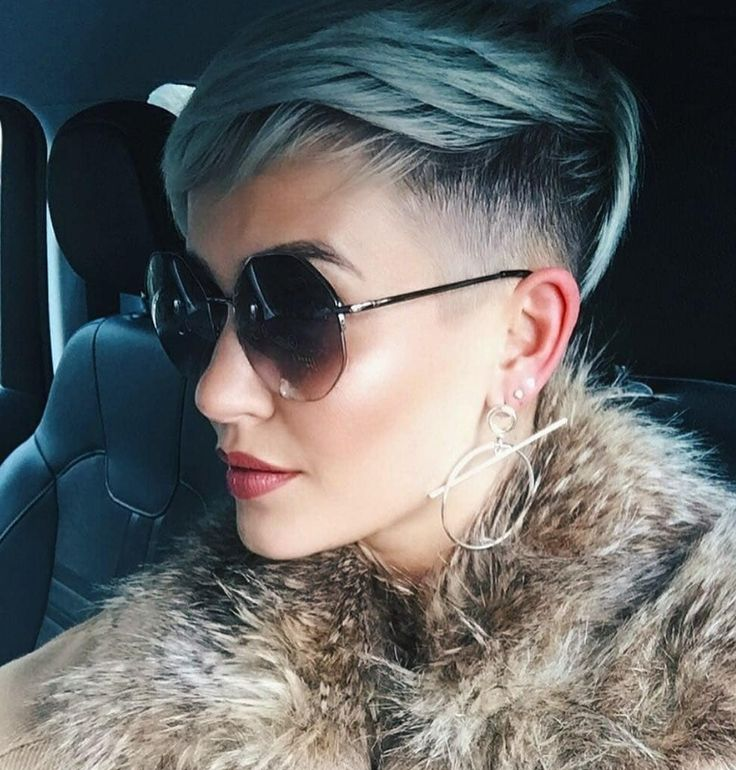 58 Hottest Shaved Side Short Pixie Haircuts Ideas For Woman In 2019 – Page 20 of 58