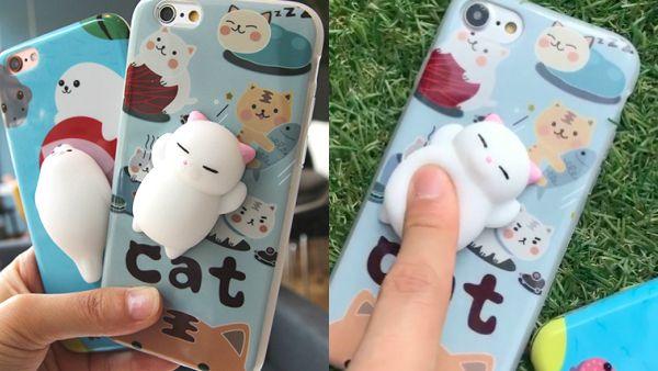 Squishy Cute Cat iPhone Case!