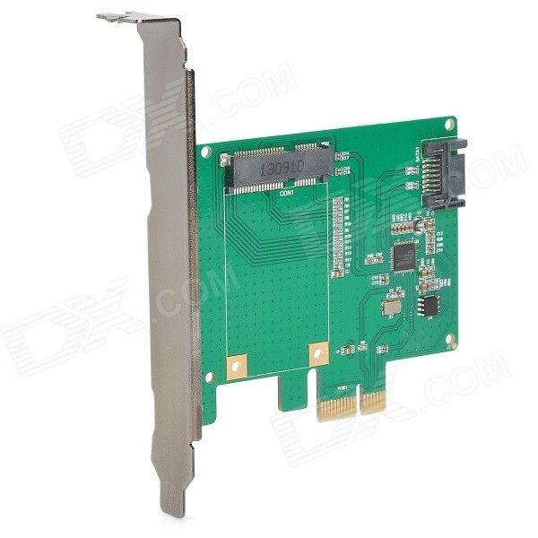 MAIWO KCSSD1 PCI-E PCI-Express to 6.0 Gbps SATA/ mSATA 3 Hybrid Raid Adapter Converter Card - Green . CD: m5.img.dxcdn.com/CDDriver/CD/sku.351494.rar. Tags: #Computers/Tablets #Networking #Cables #Adapters #Computer #Cable #Adapter