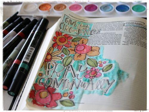 http://homegrownhospitality.typepad.com/homegrown_hospitality/2014/08/bible-journaling.html  #illustratedfaith #journaling #biblejournal #biblejournaling