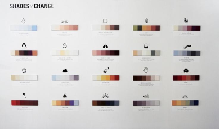 Shades of Change : โปรเจ็กต์สนุกๆ ว่าด้วยสีและความเปลี่ยนแปลง - PORTFOLIOS*NET
