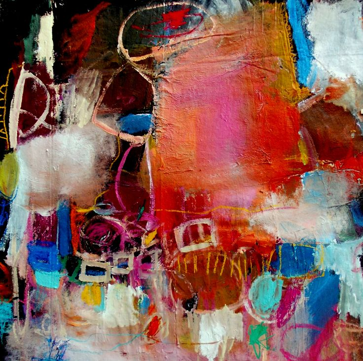 50 x 50 in mixed media on canvas.. wendy mcwilliams