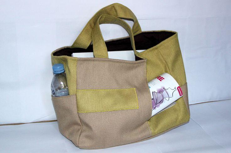 NEW Sac Fourre-tout - Kit de Couture Complet DIY : Kits, tutoriels Couture par les-kits-de-liliflower