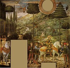 Benozzo Gozzoli Cappella dei magi, corteo con giovanni viii paleologo.jpg