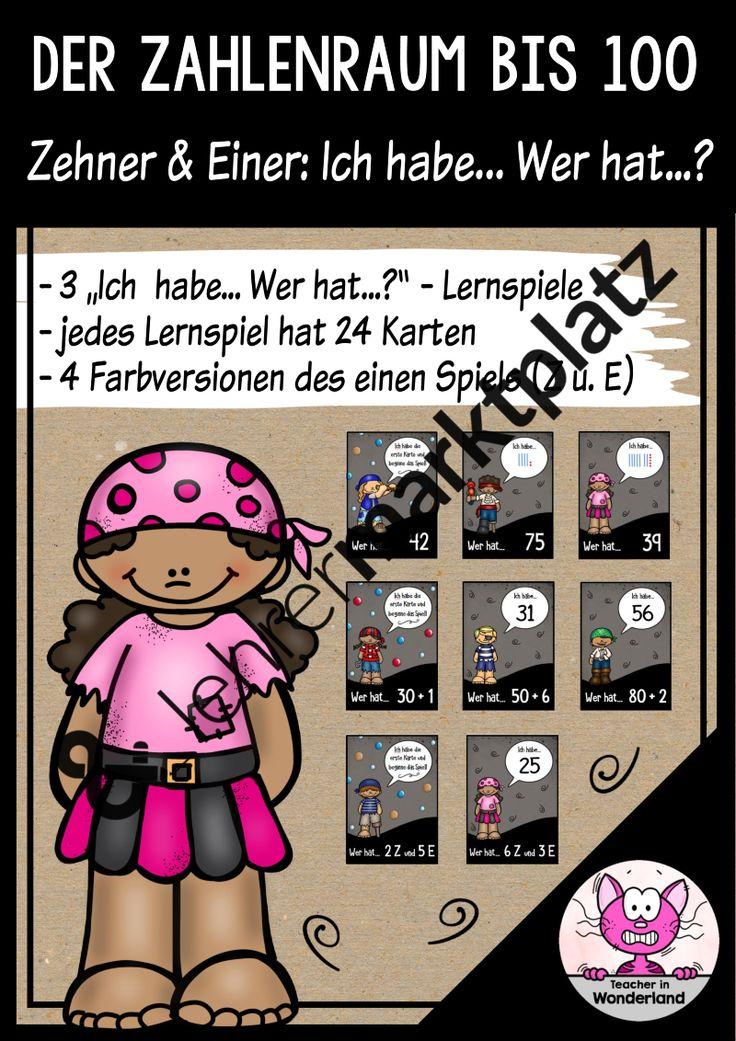 """""""Ich Habe... Wer hat...? - Zehner und Einer – Mathematik"""