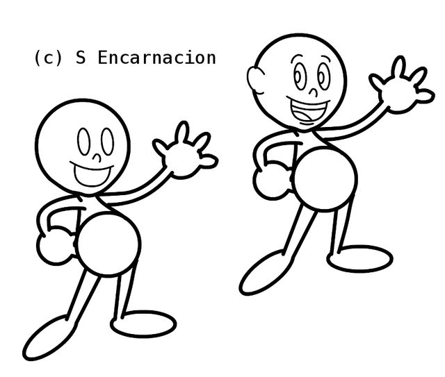 draw hundreds of characters by learning this 1 simple cartoon shape draw the cartoon characters - Simple Cartoon Pics