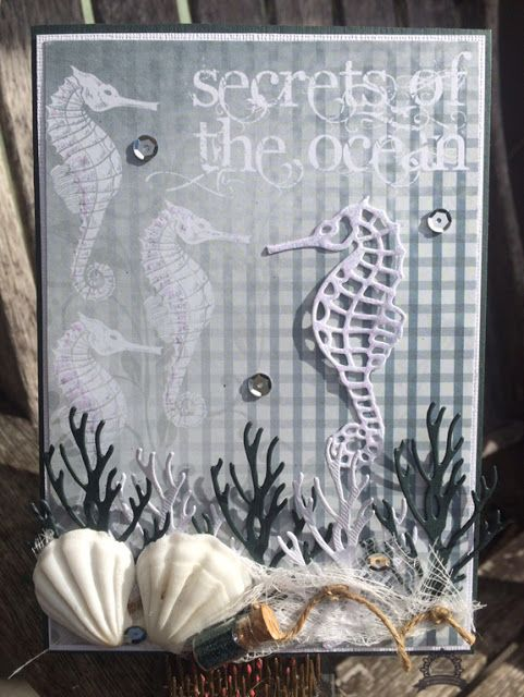 Artdeco Creations Brands: Secrets of the Ocean by Tracey Cooley #seabreeze #couturecreationsaus