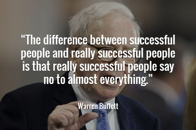 Warren Buffett Success Quotes