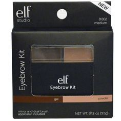 How to fill your brows step by step using the Elf Eyebrow Kit!