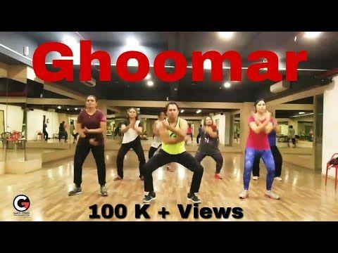 Padmavati : Ghoomar Zumba Choreography | BollyWood Dance Fitness | Cardio | BollyFitParty.in - YouTube