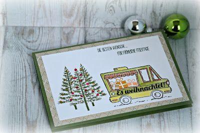 by Keksie: Lecker Laster, Weihnachten, Karte, STampin up