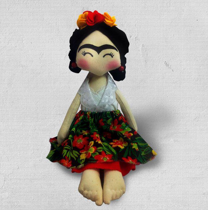 Boneca Frida Kahlo. Você pode levar para sua casa um pedacinho do méxico e do Guacamole. Mexico. Guacamole. Decoração. Guacamole. Arriba. Frida. Frida Kahlo