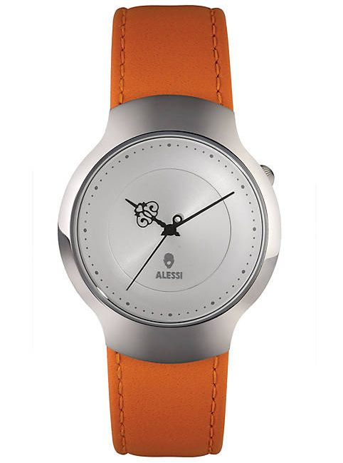 A watch is more than just a piece to tell time; it's the finishing touch to getting dressed up for a special occasion. The Alessi Dressed Watch was designed by Marcel Wanders to meet both needs.  http://zocko.it/LDlIt