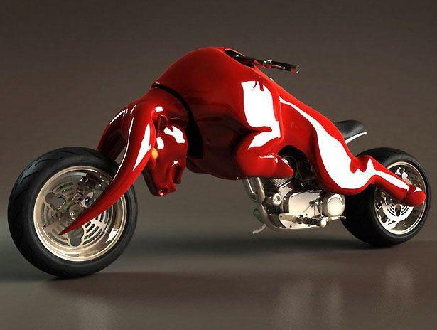 motocykel-bull