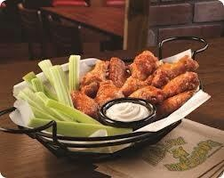 Did you know our #wings are baked? #ChaEats
