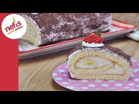 Rulo Pasta Nasıl Yapılır? | Kolay Yaş Pasta Tarifi - YouTube