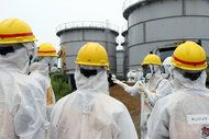 """The operator of Japan's tsunami-hit nuclear power plant sounded the alarm on the gravity of the crisis at the site. There are more than 200,000 tons of radioactive water in makeshift tanks vulnerable to leaks, with no reliable way to check on them or anywhere to transfer the water. If the water does get into the ocean, it will surpass even the leaks that occurred in the disaster's early days. Michio Aoyama, a senior scientist, said, """"It's the ultimate, worst-case scenario."""""""