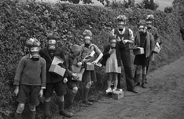 WW2 evacuees sent to live in Montgomeryshire (Wales) in 1939