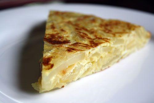 Tortilla Espanola. I miss you Spain!